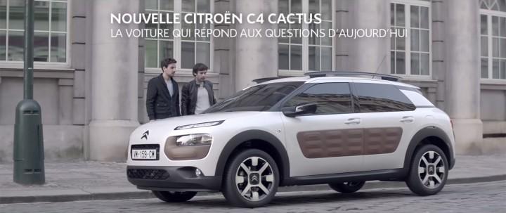 publicit citro n c4 cactus la voiture qui r pond aux questions d 39 aujourd 39 hui french driver. Black Bedroom Furniture Sets. Home Design Ideas