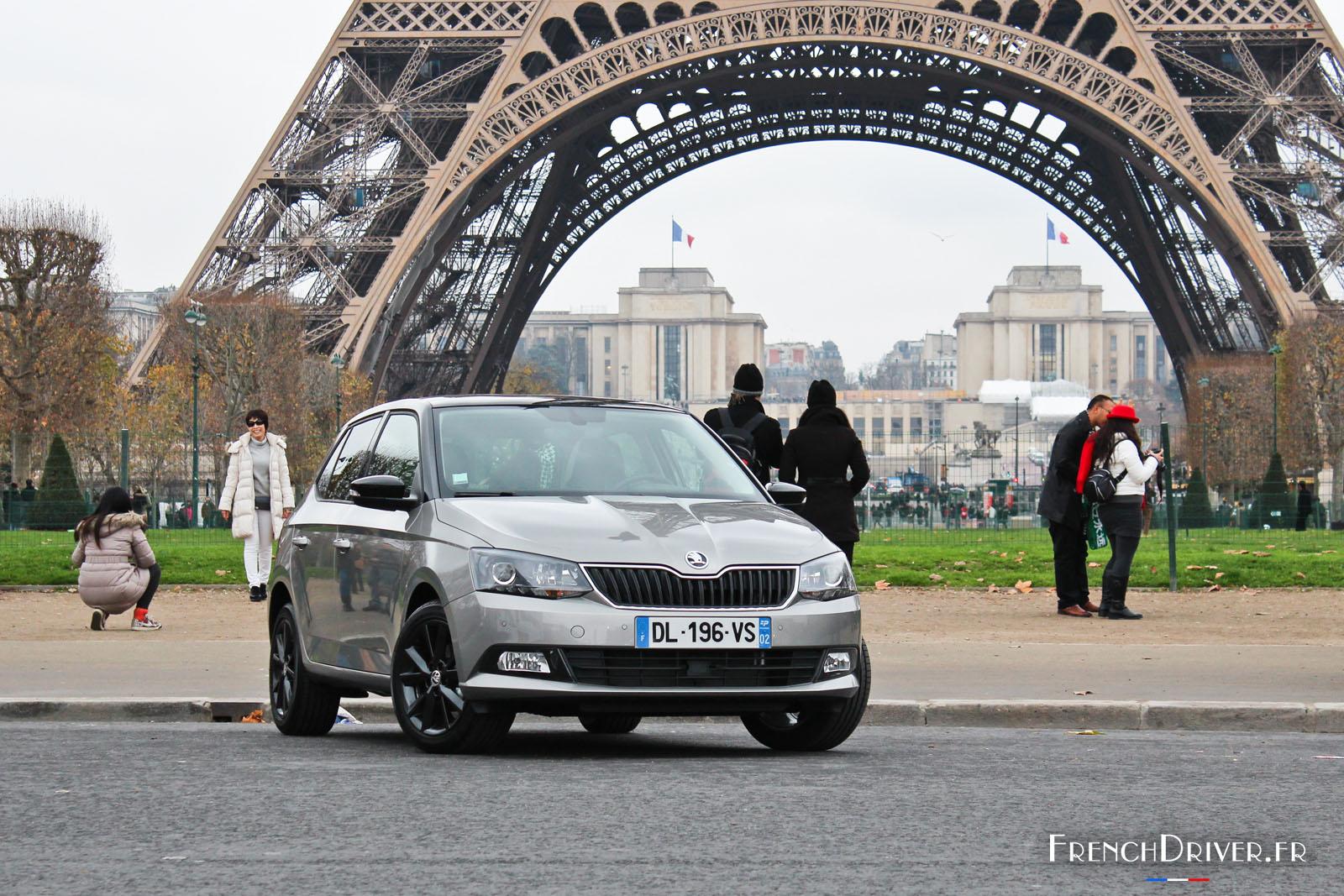 Essai de la nouvelle skoda fabia 3 french driver for Garage skoda paris 12