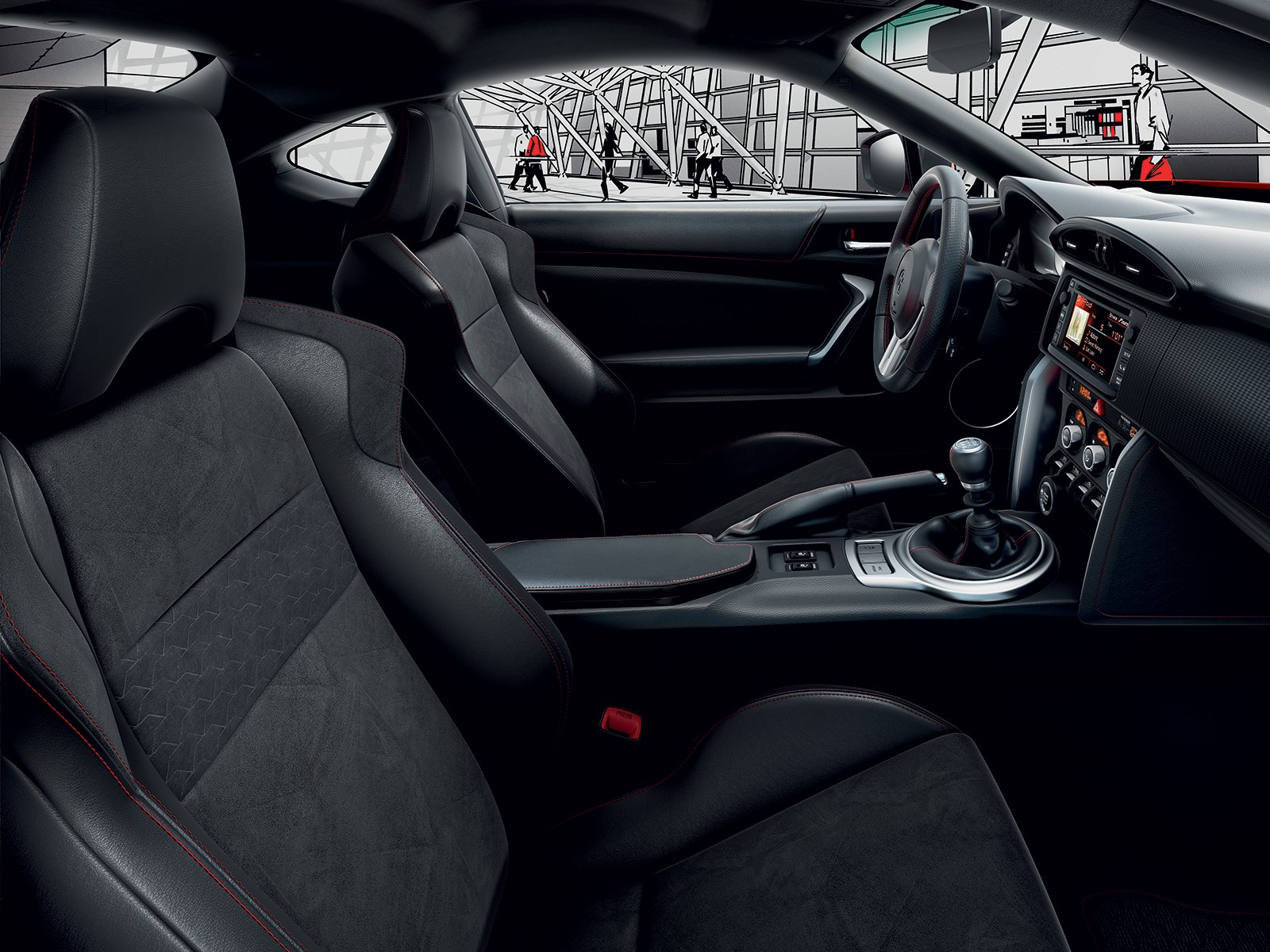 Essai de la toyota gt86 simplement par passion french for Interieur 010