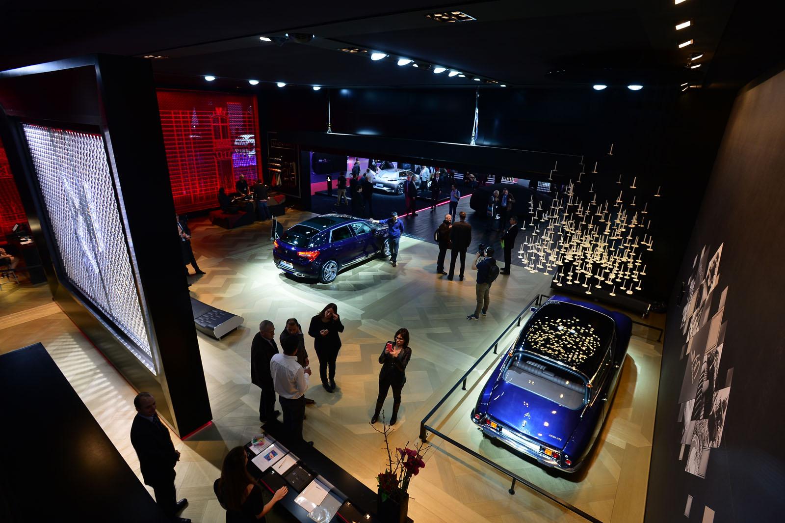 Ds automobiles au salon de gen ve 2015 l 39 esprit d 39 avant for Stand salon auto