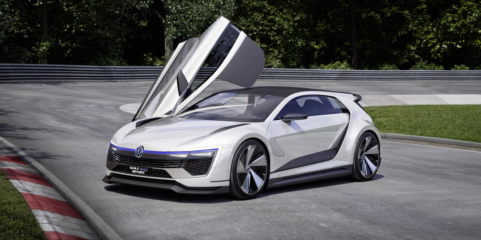 volkswagen golf gte sport un concept pour pr parer l 39 avenir french driver. Black Bedroom Furniture Sets. Home Design Ideas