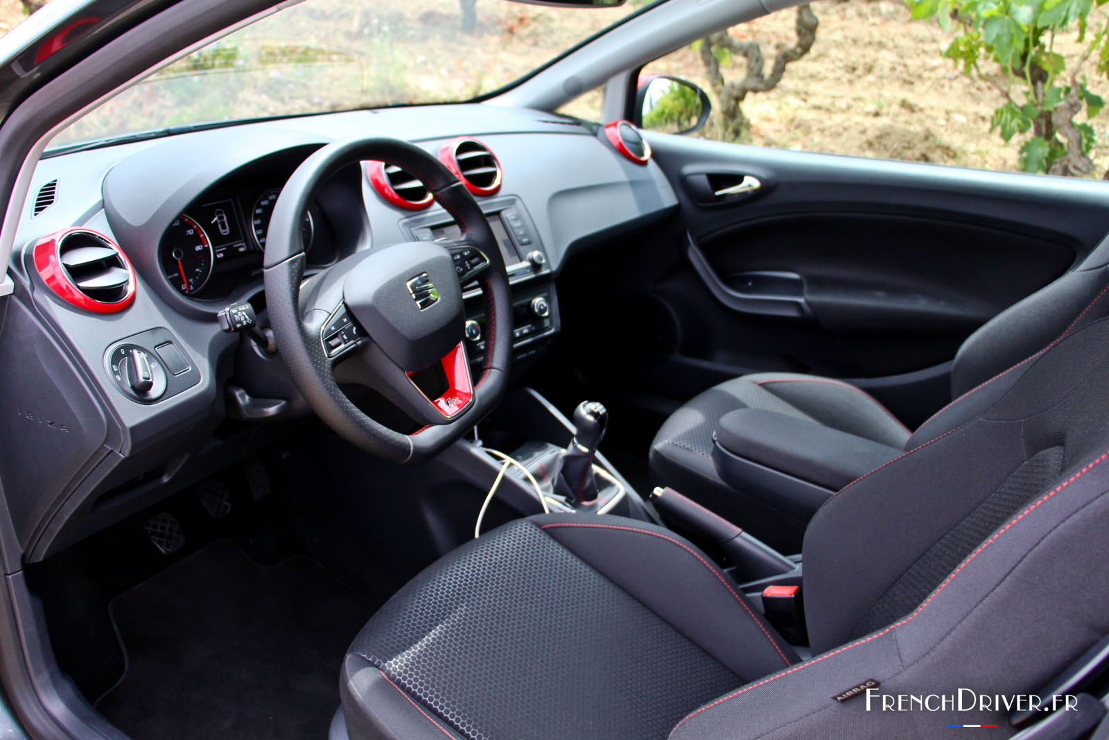 essai de la nouvelle seat ibiza restyl e la confirmation french driver. Black Bedroom Furniture Sets. Home Design Ideas