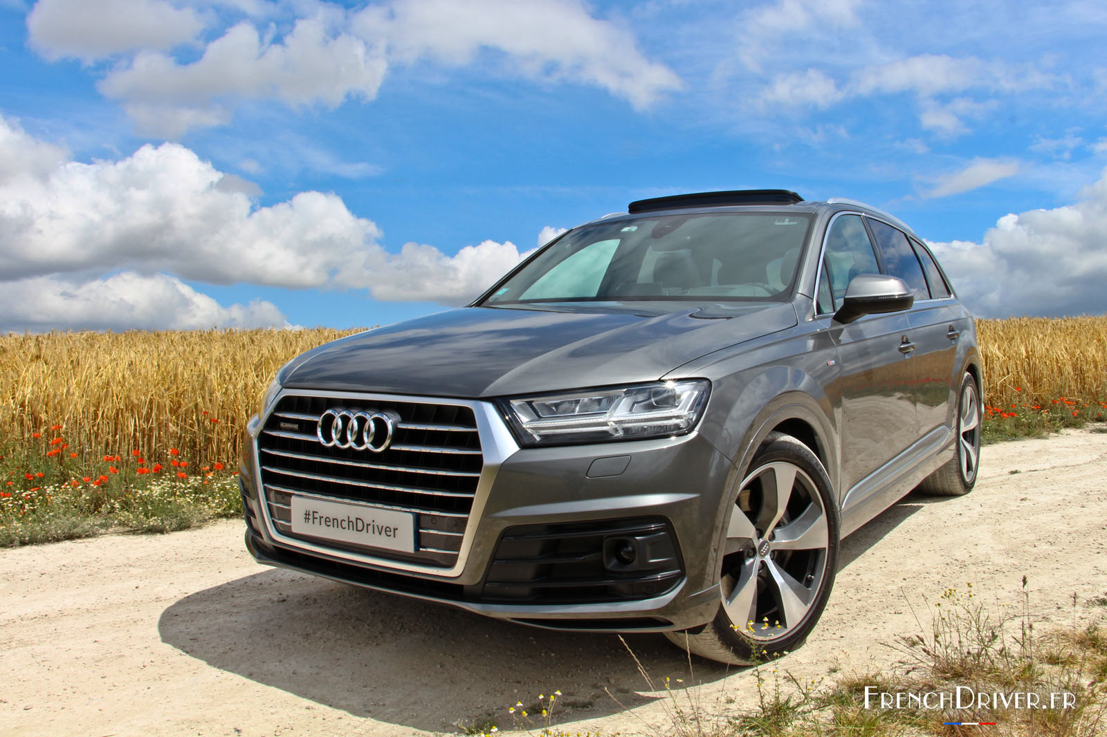 essai de la nouvelle audi q7 concentr de technologies french driver. Black Bedroom Furniture Sets. Home Design Ideas