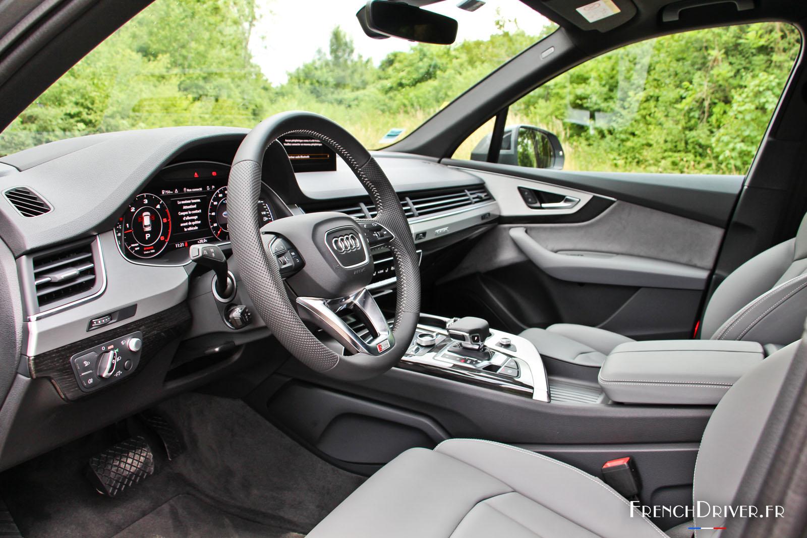 Essai De La Nouvelle Audi Q7 Concentr 233 De Technologies