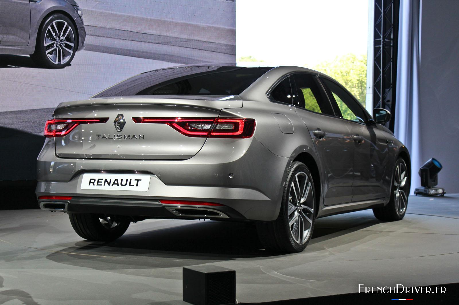 Renault Talisman Renault L 232 Ve Le Voile Sur La