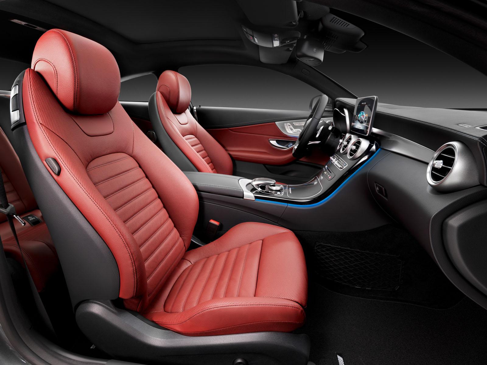 Mercedes Classe C D Rouge