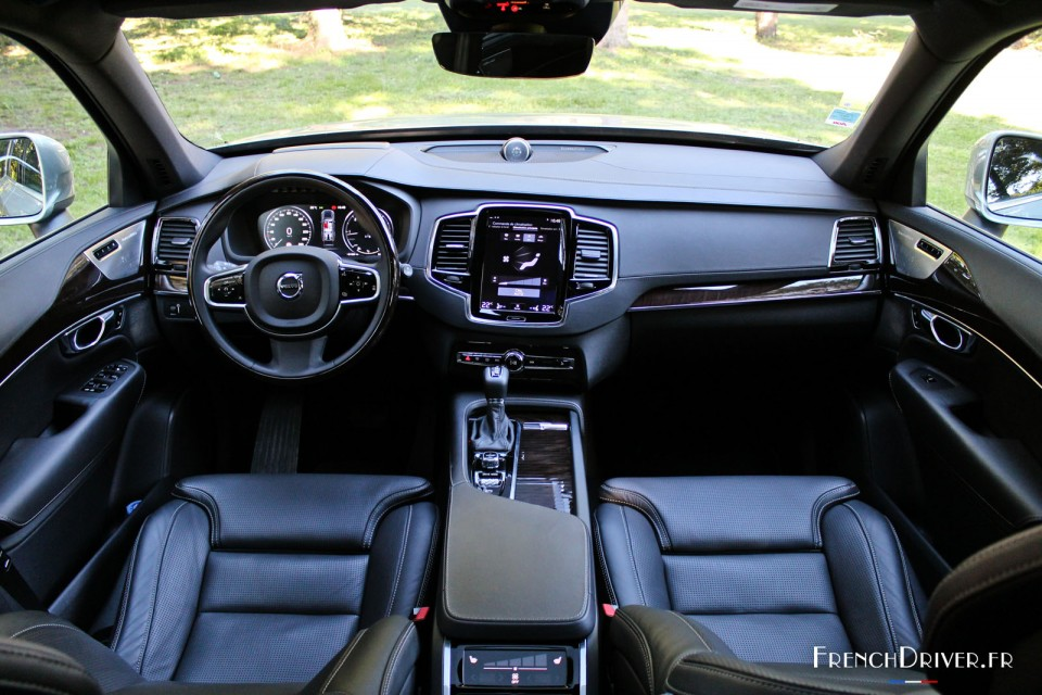 Interieur Xc90 Of Essai Du Volvo Xc90 2015 Le Coffre Fort French Driver