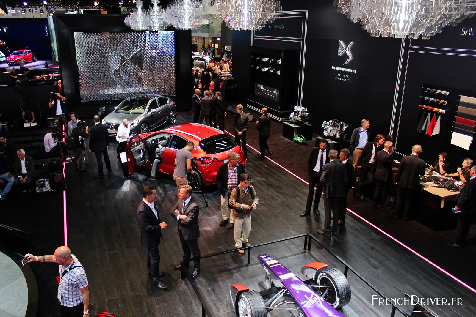 Ds automobiles au salon de francfort 2015 french driver for Francfort salon