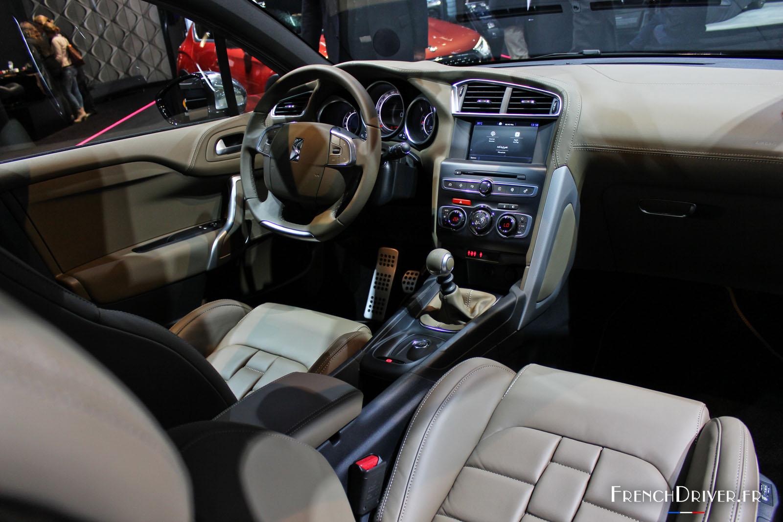 ds automobiles au salon de francfort 2015 french driver. Black Bedroom Furniture Sets. Home Design Ideas