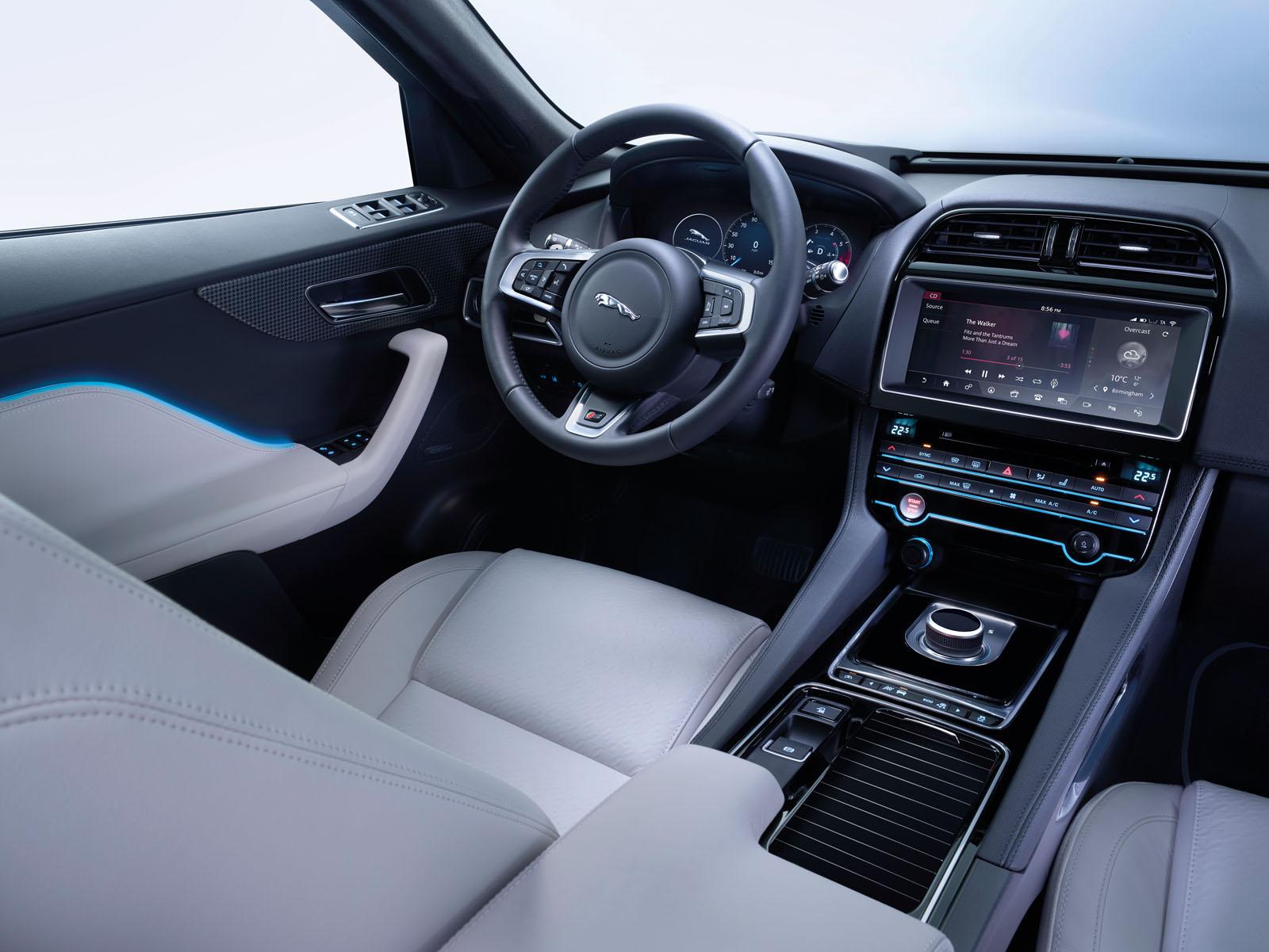 jaguar f pace la conqu te d 39 un nouveau march french driver. Black Bedroom Furniture Sets. Home Design Ideas