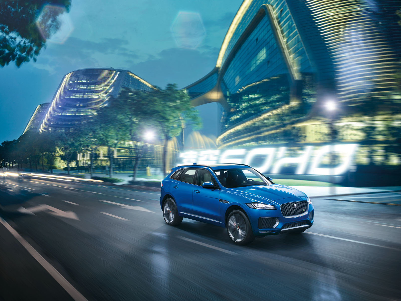 Jaguar F-Pace : à la conquête d'un nouveau marché - French ...
