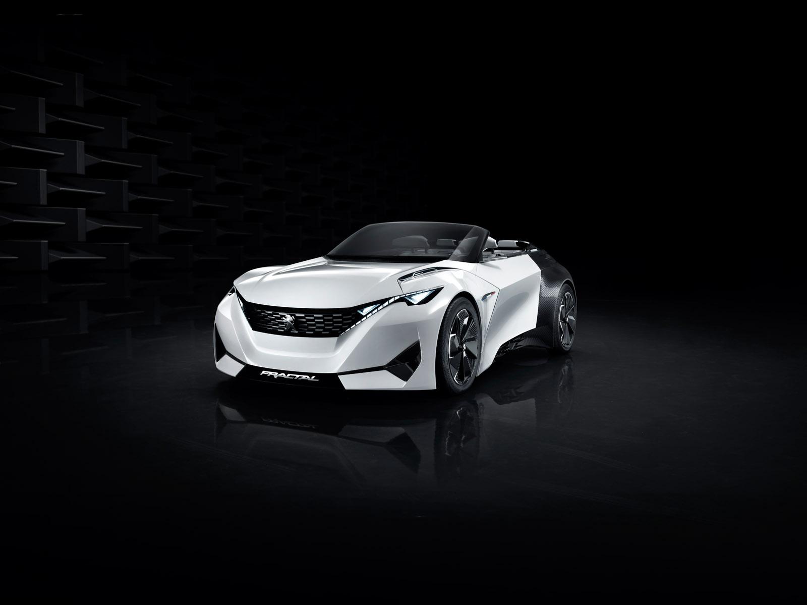 Peugeot Fractal Concept Laboratoire Roulant French Driver