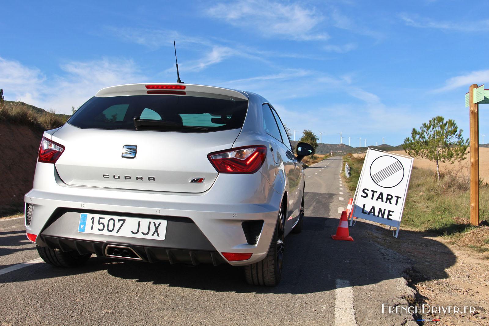 Essai De La Seat Ibiza Cupra Une Citadine Ib 233 Rique Au