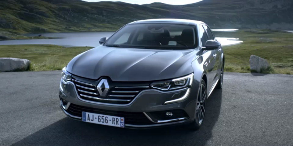 publicit nouvelle renault talisman ma trisez votre trajectoire french driver. Black Bedroom Furniture Sets. Home Design Ideas