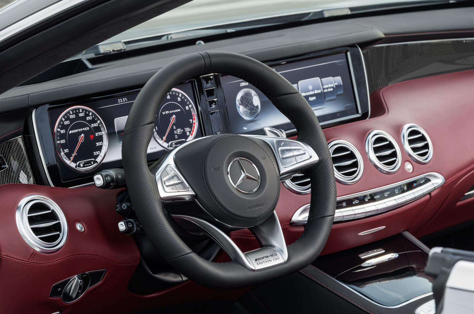 Mercedes Amg S63 Cabrio Edition 130 French Driver