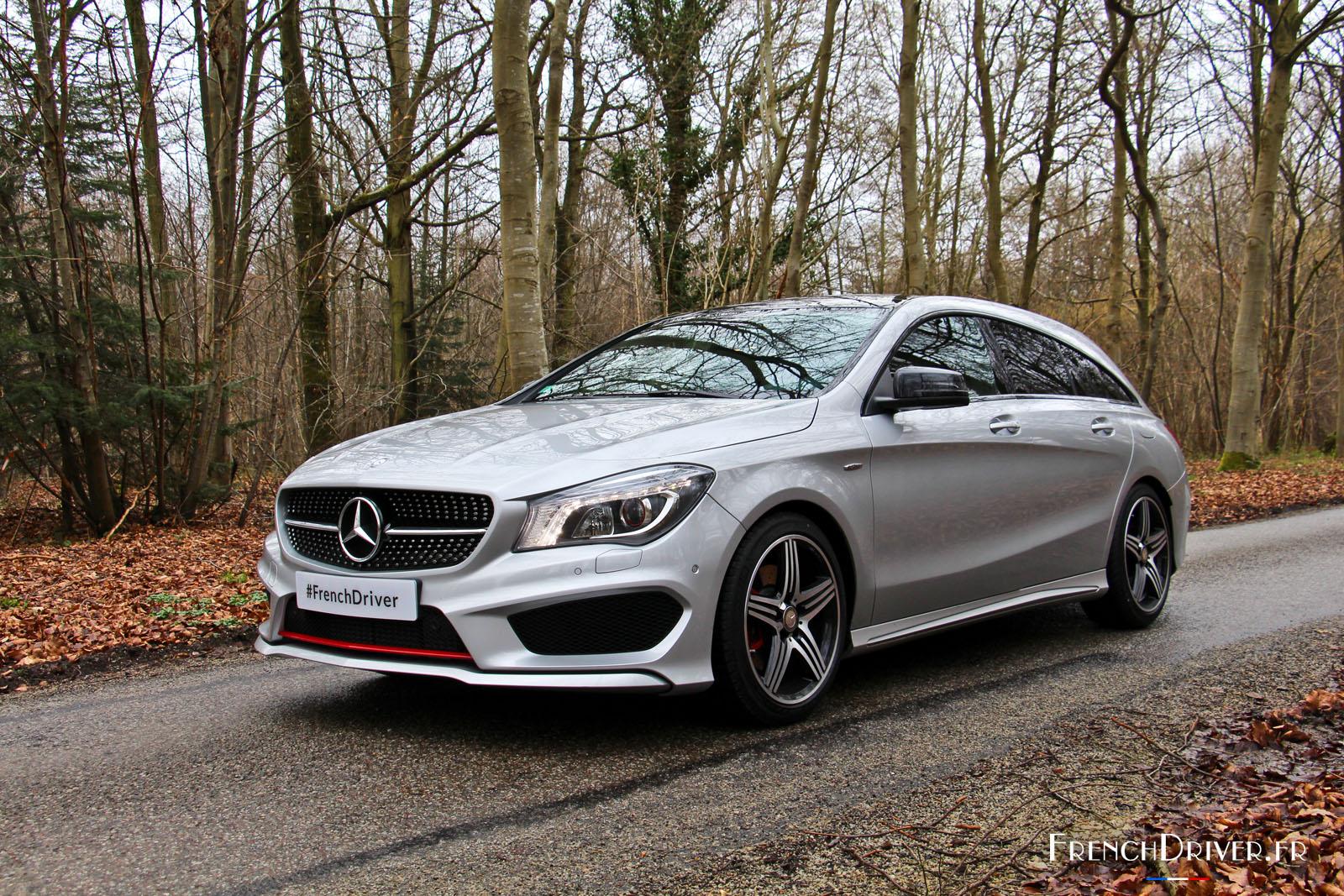 Essai De La Mercedes Cla Shooting Brake L Alliance De