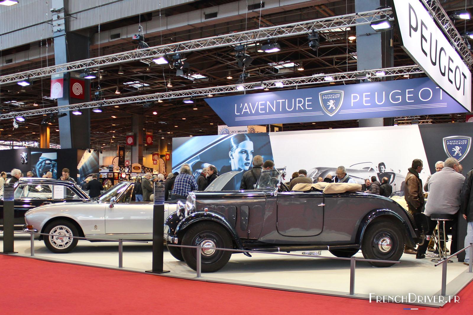 Photos un voyage dans le temps au salon r tromobile 2016 for Salon retromobile
