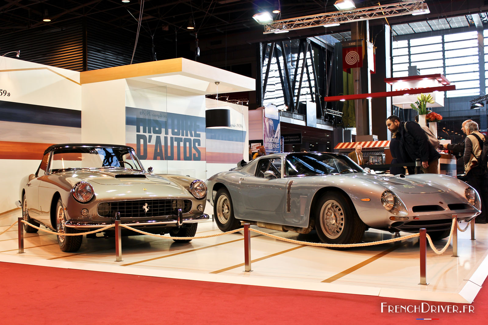 Photos un voyage dans le temps au salon r tromobile 2016 for Salon versailles 2016