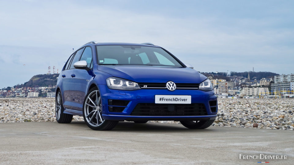 essai volkswagen golf vii r sw un break ravageur. Black Bedroom Furniture Sets. Home Design Ideas
