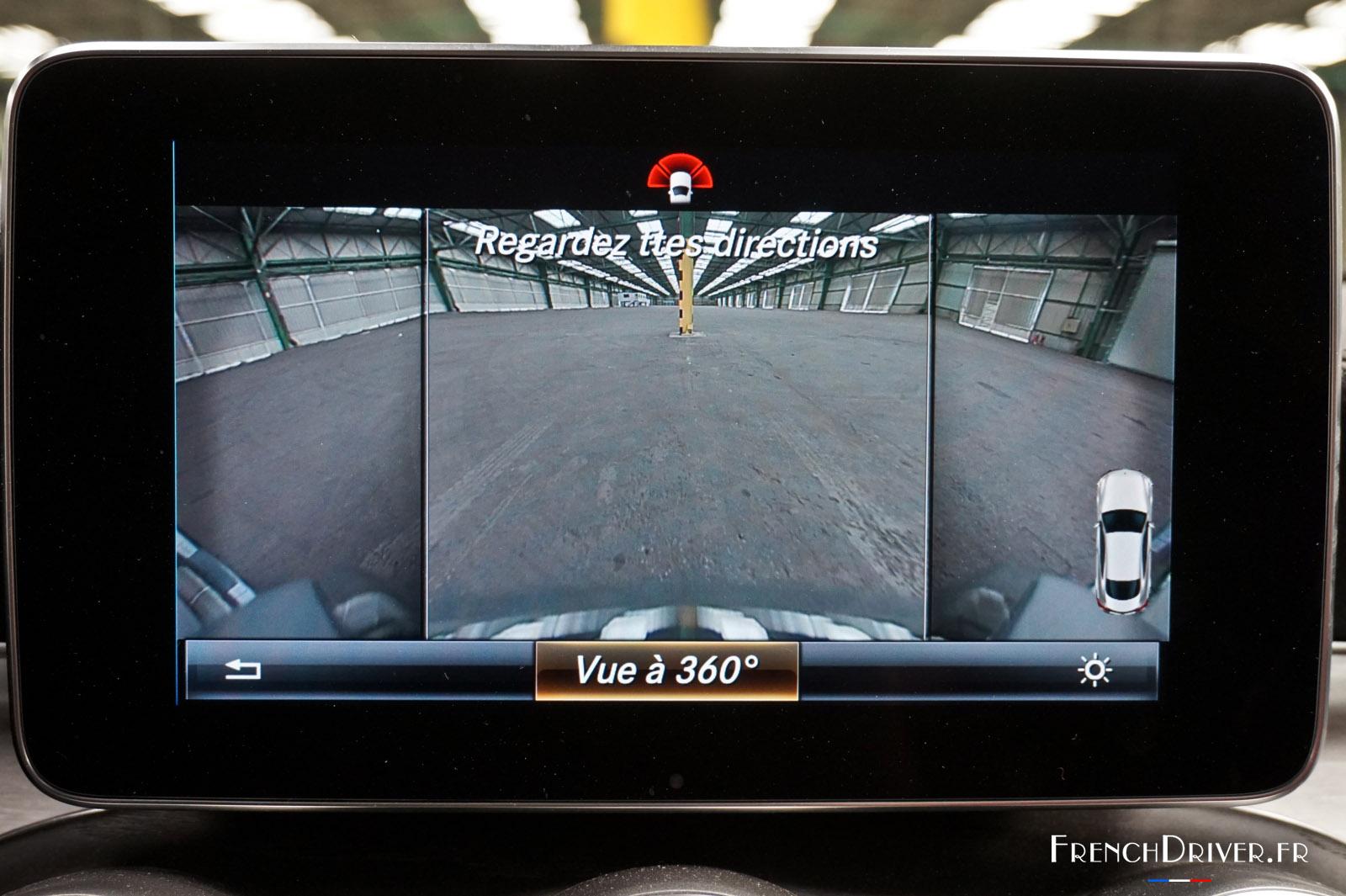 Systeme De Camera De Recul Mercedes Classe Cla