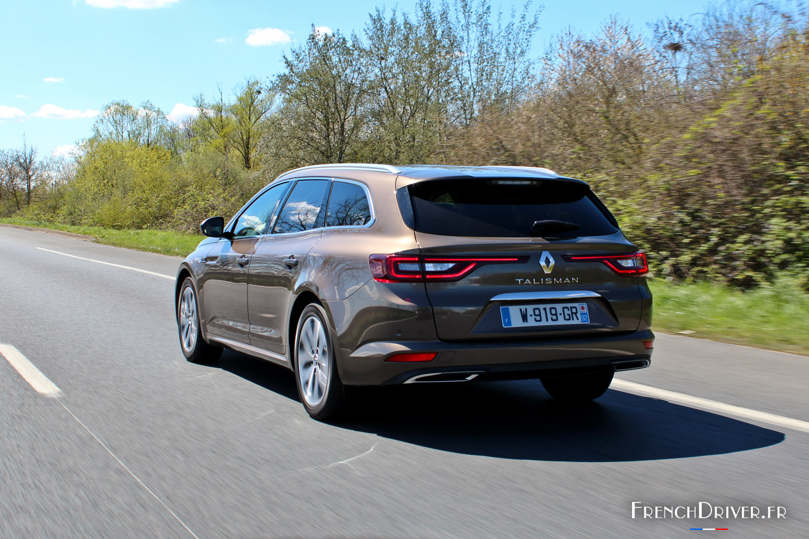 Essai De La Renault Talisman Estate 233 L 233 Gant Break
