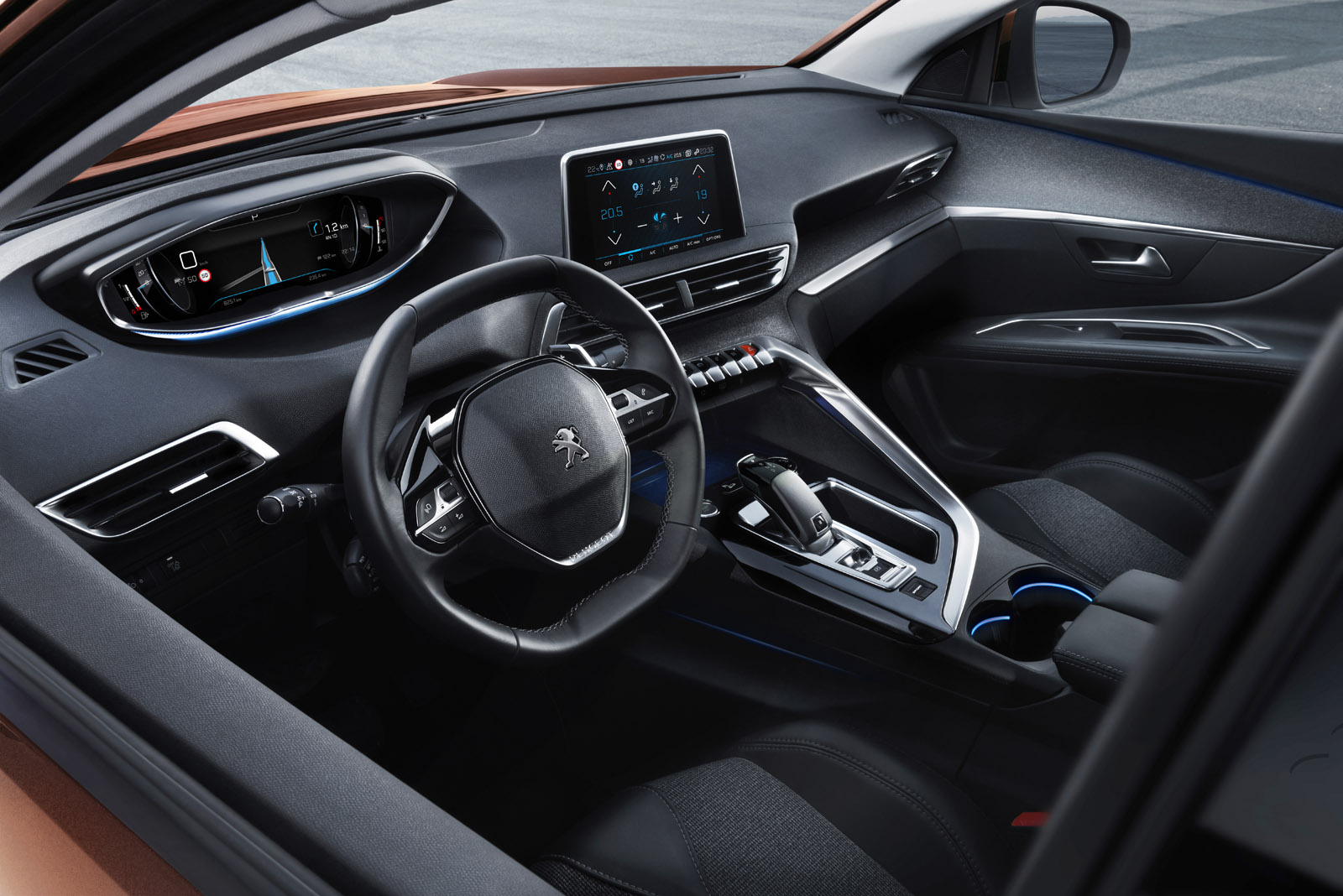 Nouvelle peugeot 3008 ii le bon coup de crayon french for Interieur 3008 allure