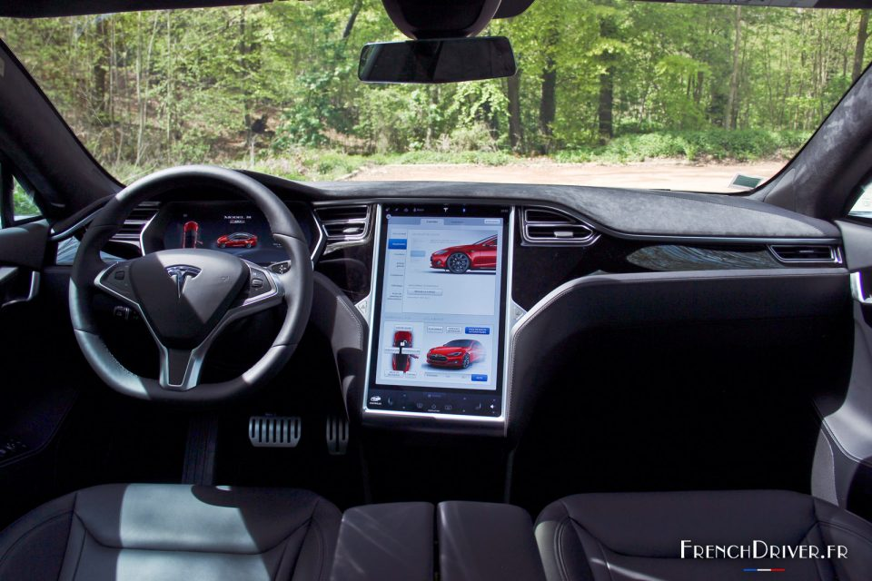 essai de la tesla model s p90d le futur n 39 a jamais t aussi proche french driver. Black Bedroom Furniture Sets. Home Design Ideas