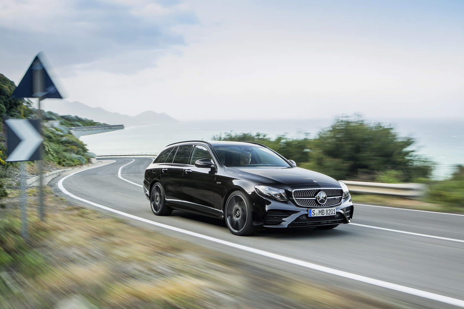 Nouvelle Mercedes Classe E 43 Amg Break Un V6 Encore
