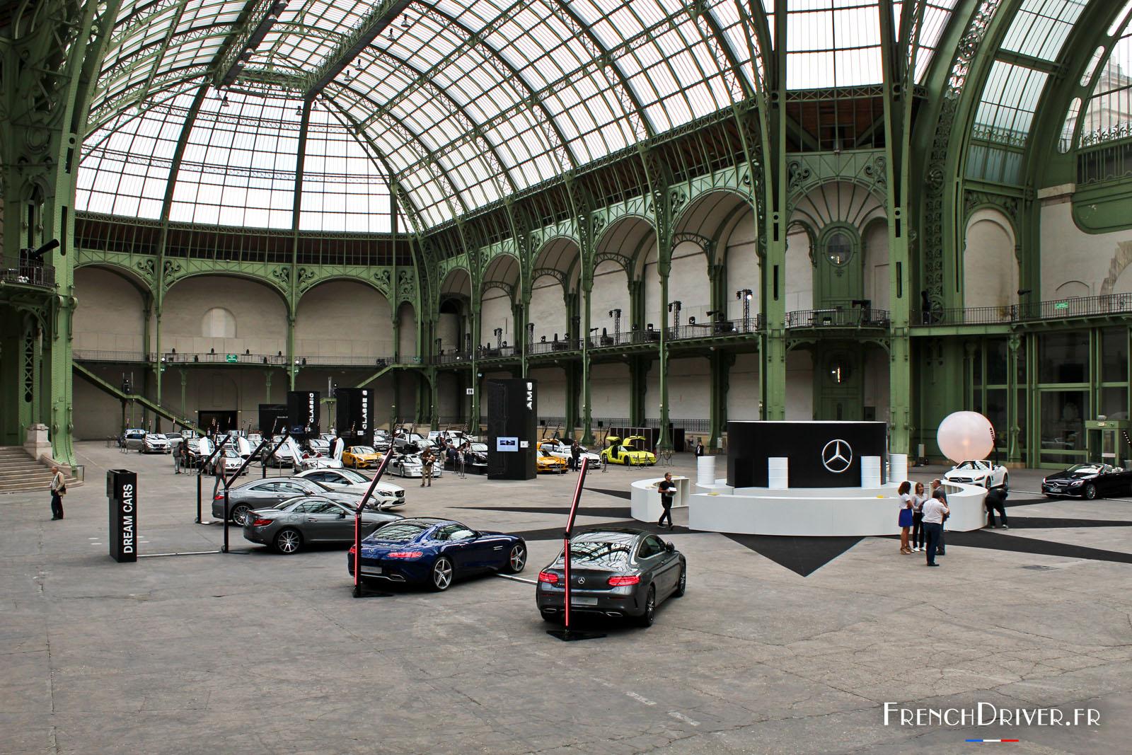 Exposition les belles etoiles 80 mercedes r unies au for Exposition jardin paris 2016