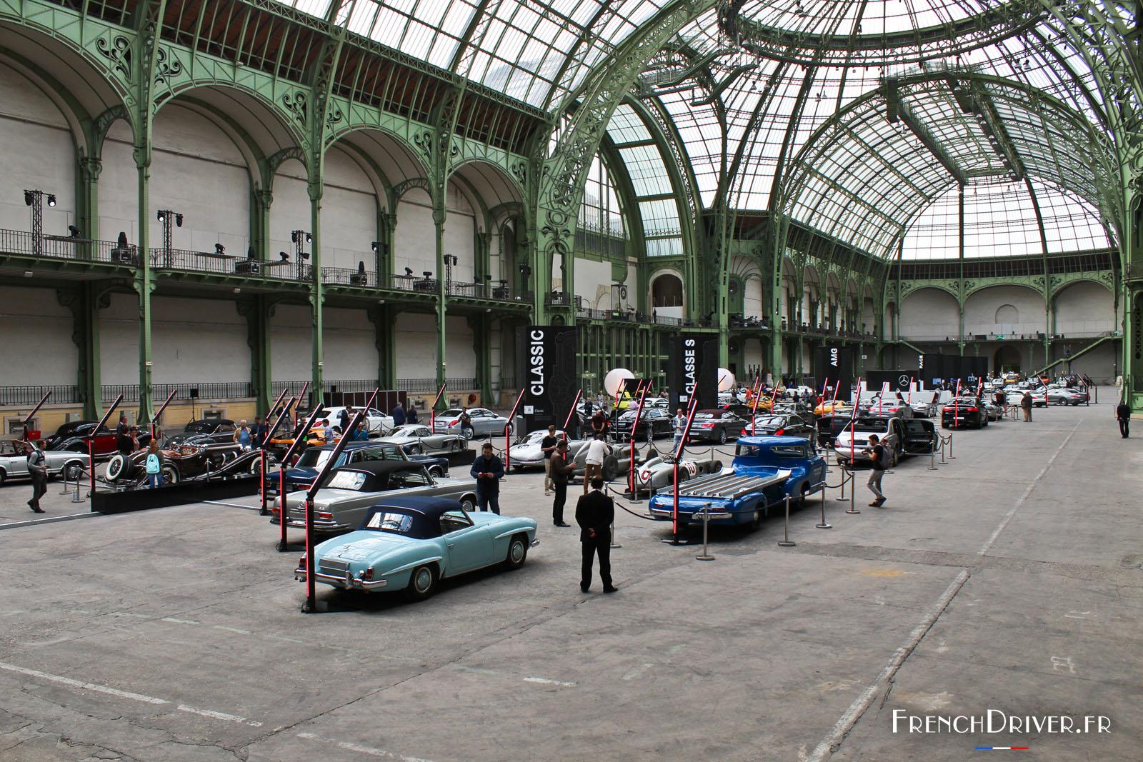 Exposition les belles etoiles 80 mercedes r unies au for Expos paris novembre 2016