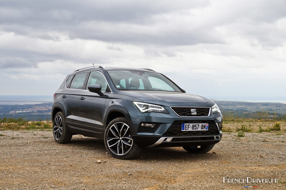 essai seat ateca une surprise pr visible french driver. Black Bedroom Furniture Sets. Home Design Ideas