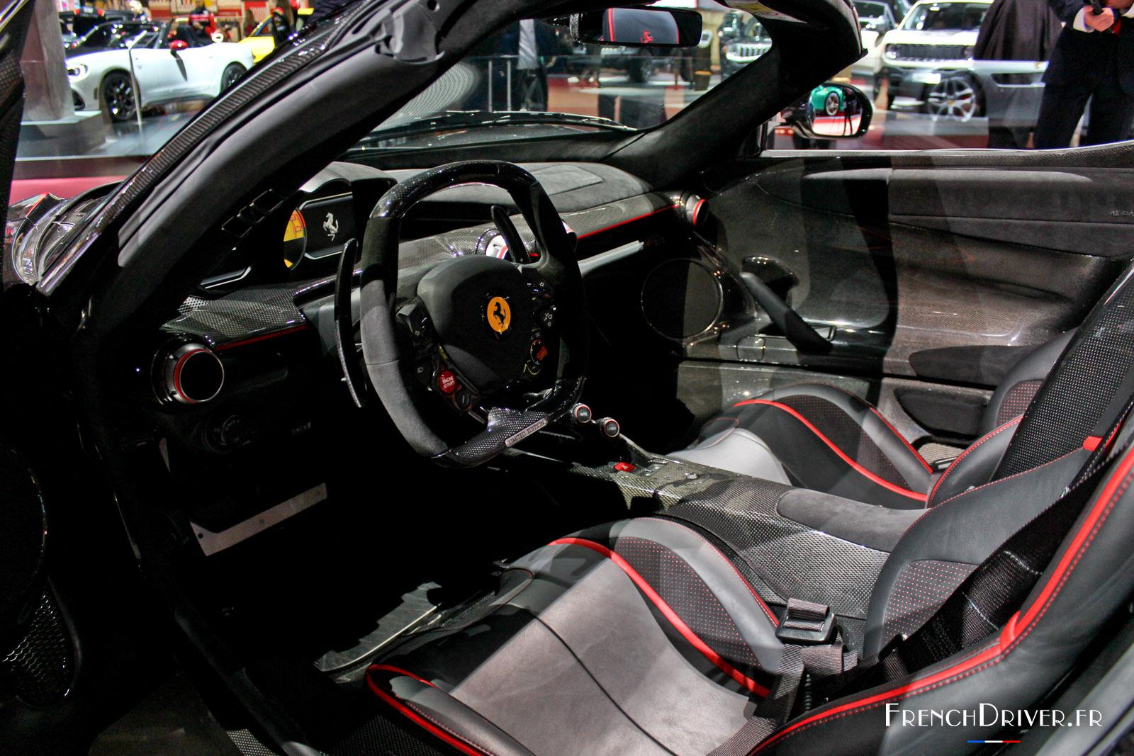 Ferrari Laferrari Aperta La Reine Du Mondial 2016