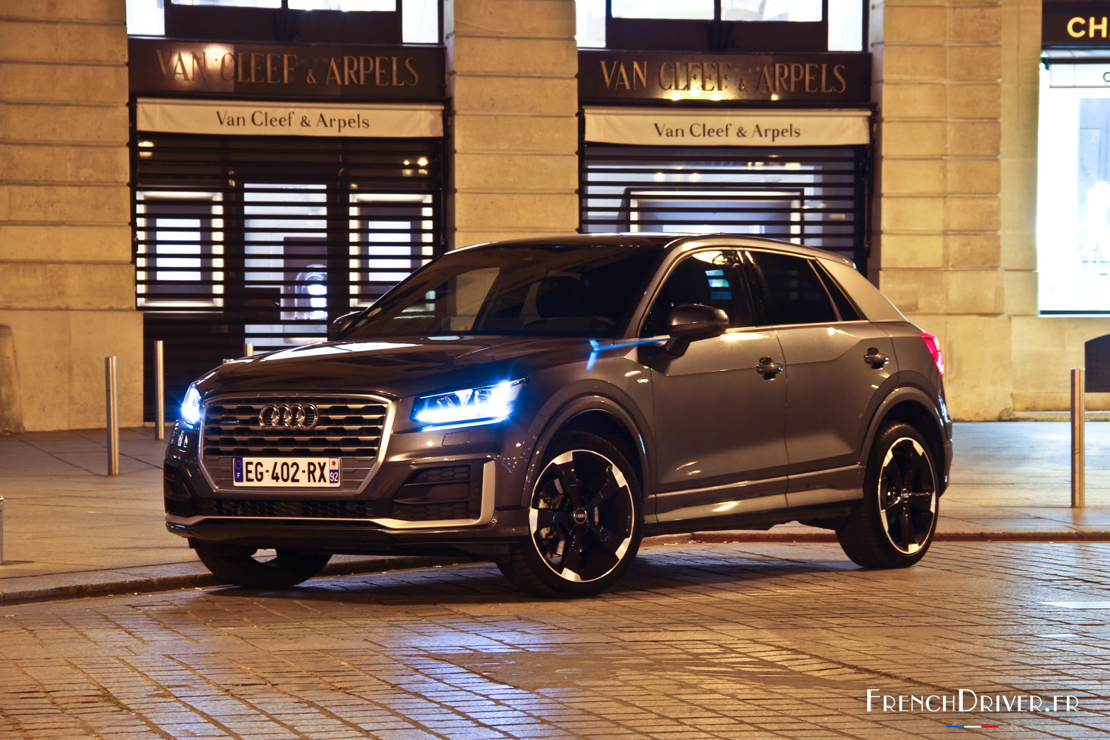 essai audi q2 tdi 190 s line citadine pour parisienne press e french driver. Black Bedroom Furniture Sets. Home Design Ideas