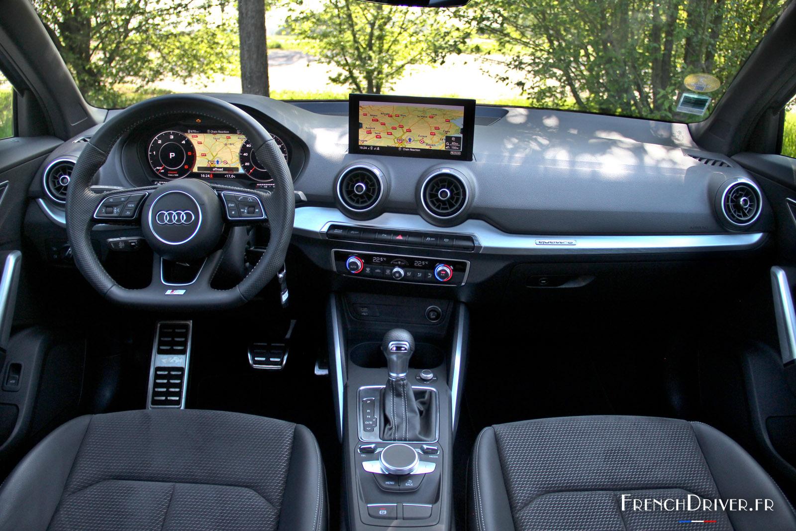 Essai Audi Q2 Tdi 190 S Line Citadine Pour Parisienne Pressee French Driver