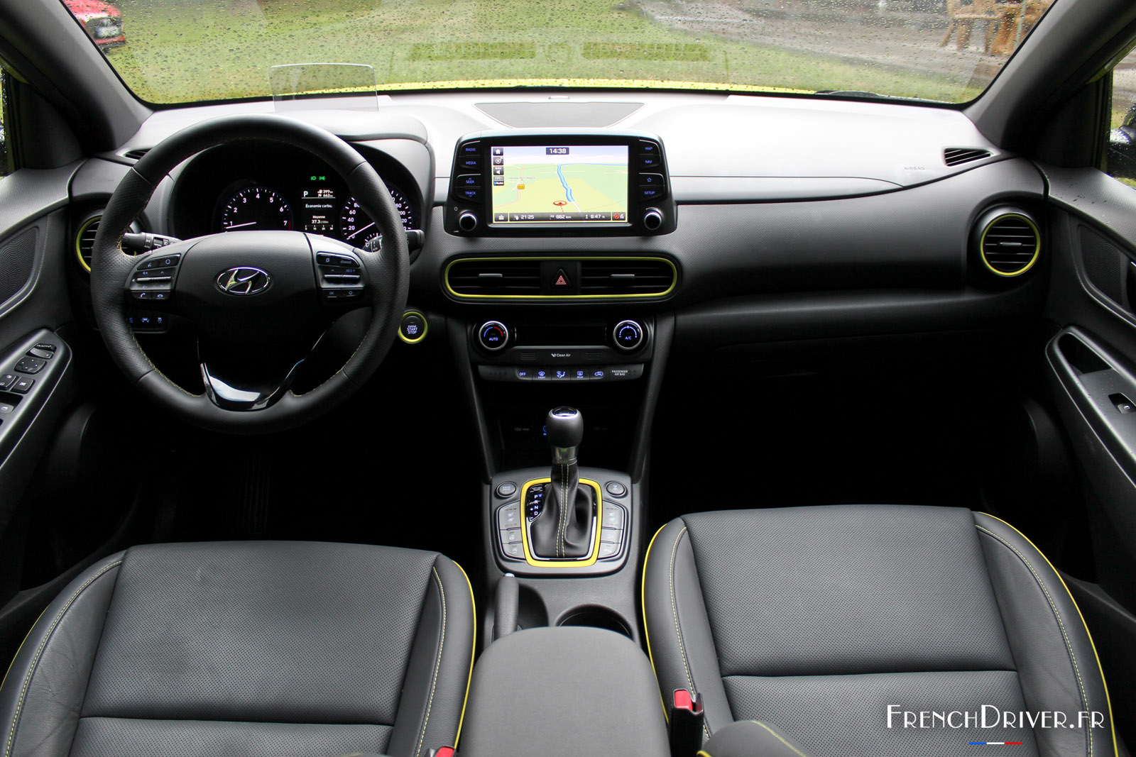 Photos la d couverte du nouveau hyundai kona for Interieur hyundai kona