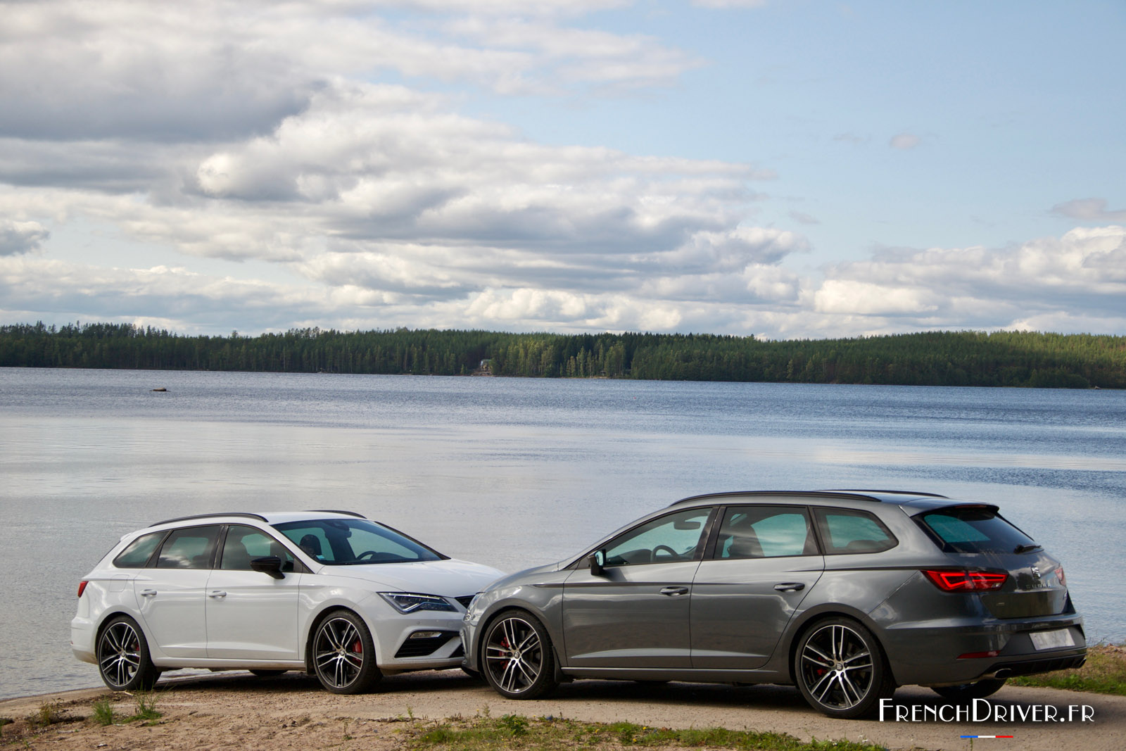 sur les routes finlandaises du rallye des mille lacs en seat leon cupra st french driver. Black Bedroom Furniture Sets. Home Design Ideas