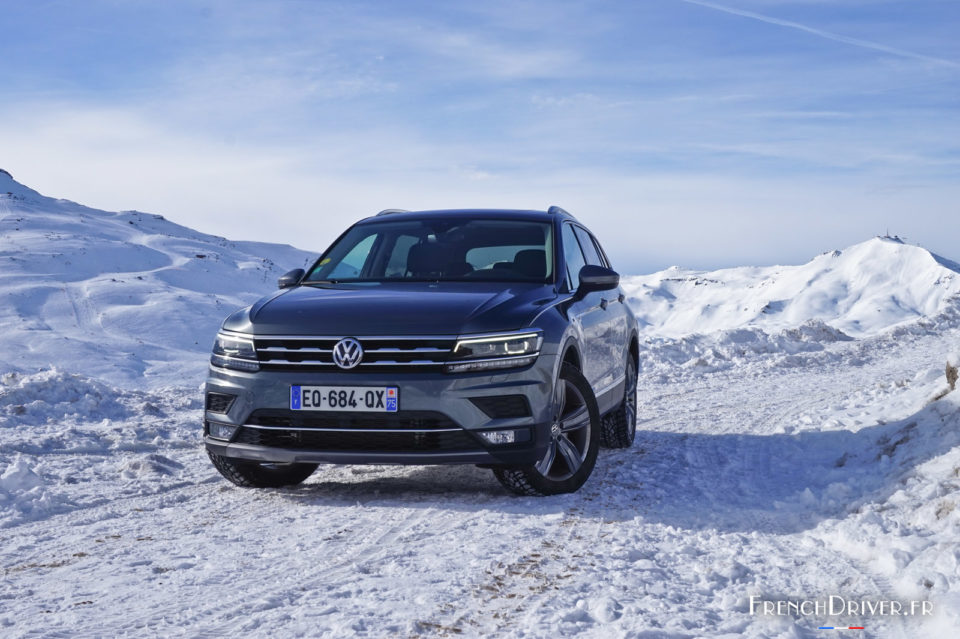 essai volkswagen tiguan allspace un bel esprit de famille french driver. Black Bedroom Furniture Sets. Home Design Ideas