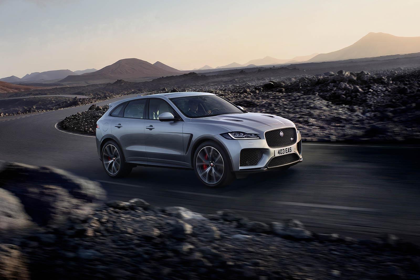 Salon de New-York 2018 : la Jaguar F-Pace SVR se dévoile ...