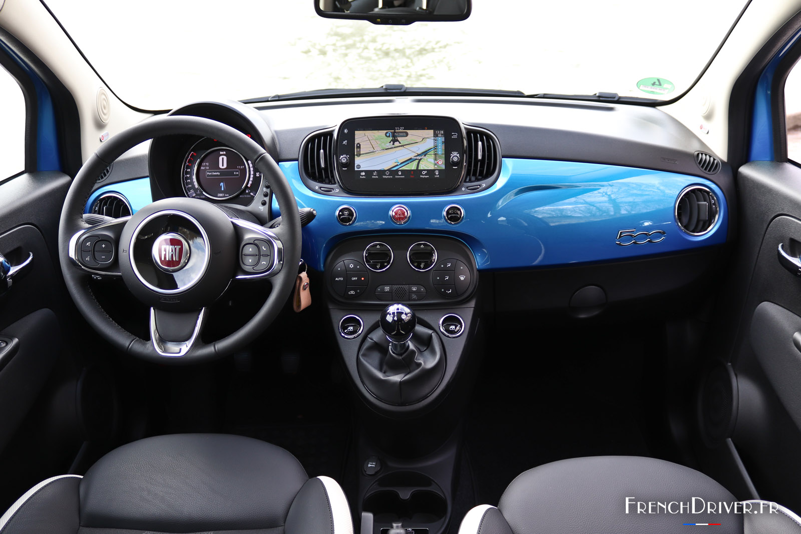 essai nouvelle fiat 500 mirror dans l 39 air du temps french driver. Black Bedroom Furniture Sets. Home Design Ideas