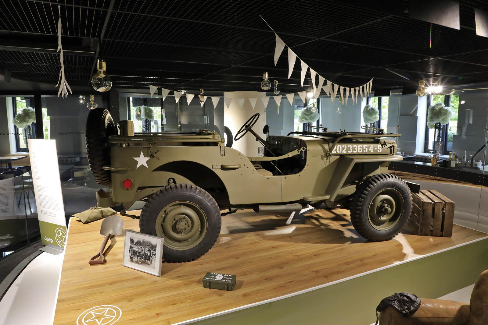 Drivers Village Jeep >> MotorVillage présente les nouveautés Jeep sur les Champs