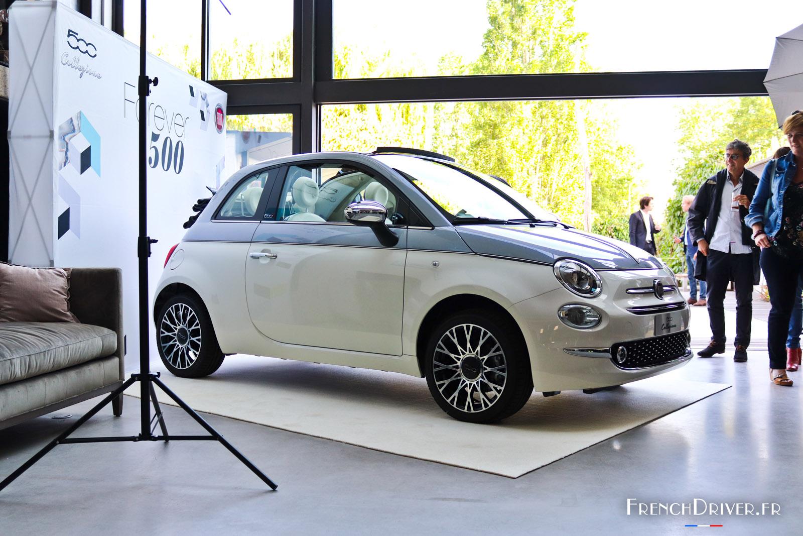 Photos La Nouvelle Fiat 500 Collezione Pr 233 Sent 233 E 224 Paris